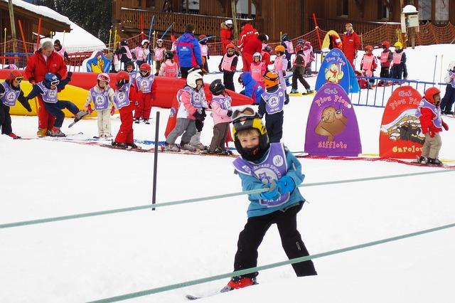лыжные соревнования детей
