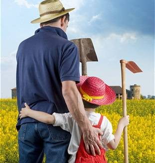 юный фермер