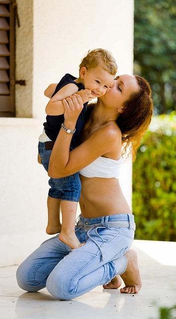 поцелуй мамы