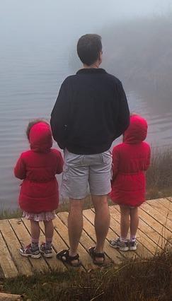 папа и близнецы