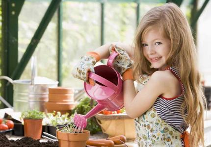 садоводство для детей