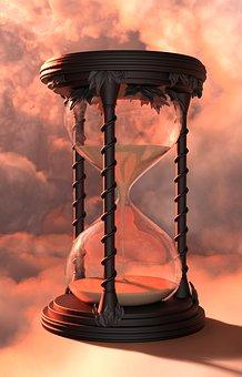 возраст в песочных часах