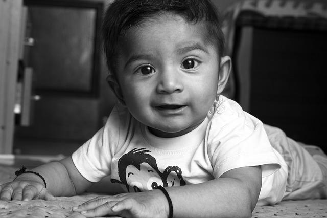 улыбка любимого сыночка