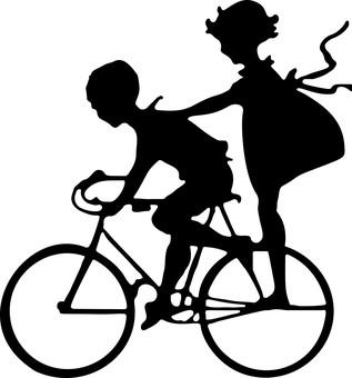 прогулка детей на велосипеде
