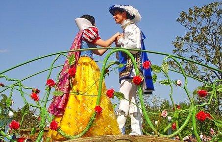 принц и принцесса из сказки
