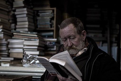 информация через чтение книг